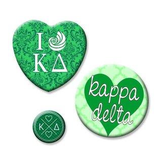 Kappa Delta Button Set