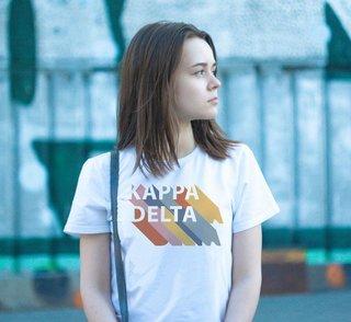 Kappa Delta Califonic Tee - Comfort Colors