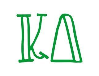Kappa Delta Carson Greek Sticker