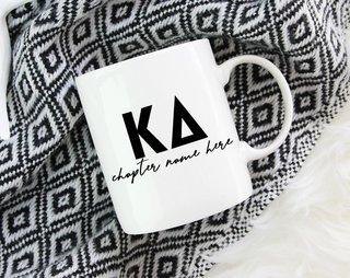 Kappa Delta Chapter Mug