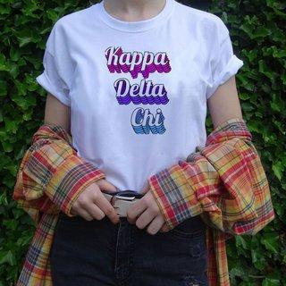 Kappa Delta Chi Echo Tee - Comfort Colors