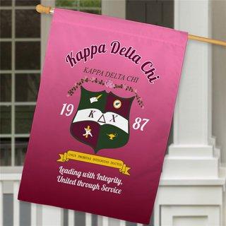 Kappa Delta Chi House Flag
