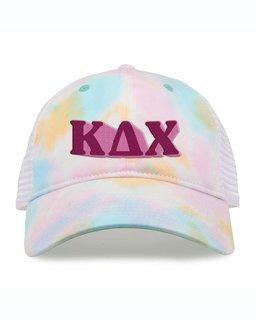 Kappa Delta Chi Sorority Sorbet Tie Dyed Twill Hat