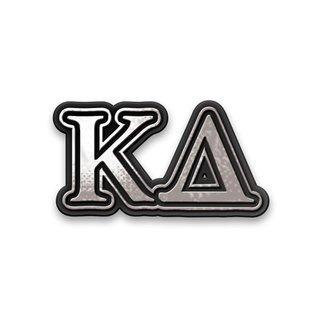 Kappa Delta Chrome Car Emblem!