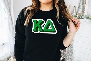 Kappa Delta City Greek Sweatshirt