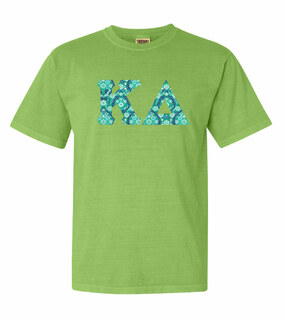 Kappa Delta Comfort Colors Lettered Greek Short Sleeve T-Shirt