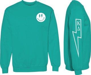Kappa Delta Comfort Colors Lightning Crew Sweatshirt
