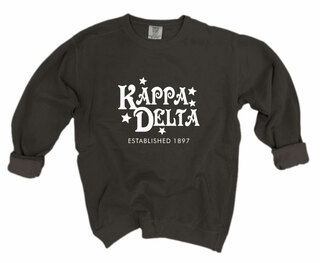 Kappa Delta Comfort Colors Old School Custom Crew