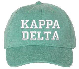 Kappa Delta Comfort Colors Pigment Dyed Baseball Cap