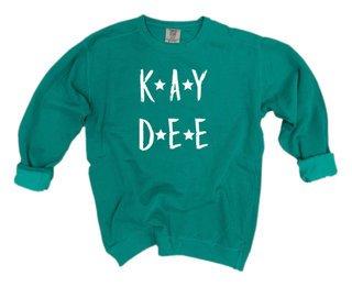 Kappa Delta Comfort Colors Starry Night Crew