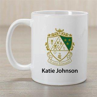 Kappa Delta Crest Coffee Mug - Personalized!
