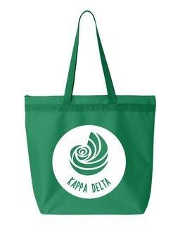 Kappa Delta Circle Mascot Tote bag