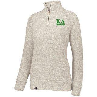 Kappa Delta Cuddly 1/4 Zip Pullover