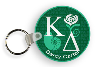 Kappa Delta Custom Mascot Keychains