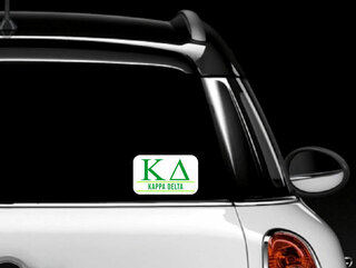 Kappa Delta Custom Sticker - Personalized