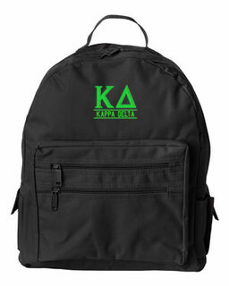 Kappa Delta Custom Text Backpack