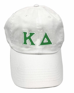 Kappa Delta Double Greek Letter Cap