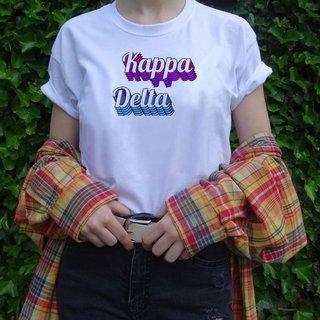 Kappa Delta Echo Tee - Comfort Colors