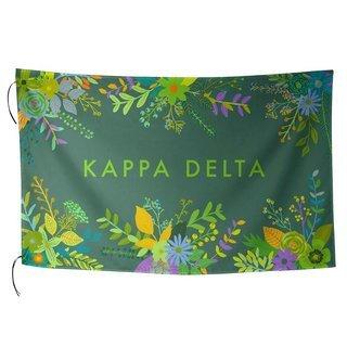 Kappa Delta Floral Flag
