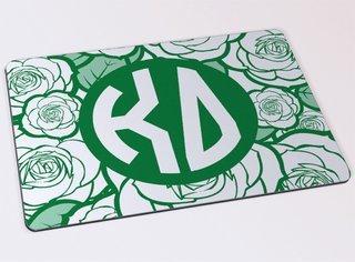 Kappa Delta Floral Mousepad