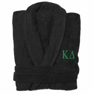 Kappa Delta Greek Letter Bathrobe