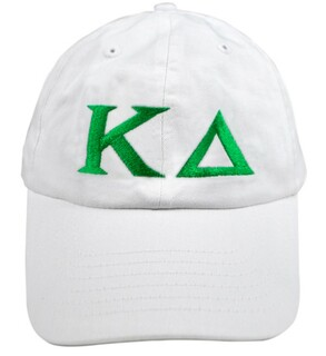 Kappa Delta Greek Letter Hat