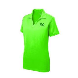Kappa Delta Greek Letter Polo Shirts
