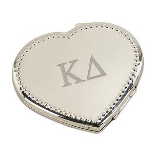 Kappa Delta Heart Shaped Classic Compact