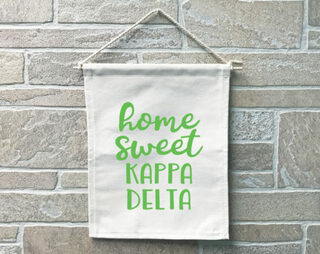 Kappa Delta Home Sweet Home Banner