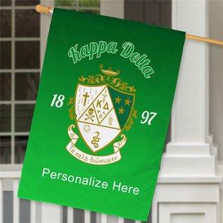 Kappa Delta House Flag