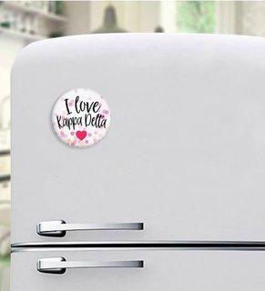 Kappa Delta I Love Magnet