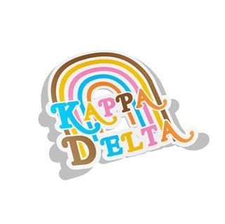 Kappa Delta Joy Decal Sticker
