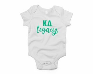 Kappa Delta Legacy Baby Outfit Onesie