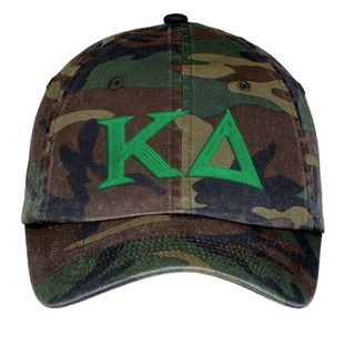 Kappa Delta Lettered Camouflage Hat