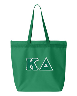 DISCOUNT-Kappa Delta Lettered Game Day Tote
