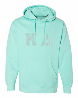 Kappa Delta Lettered Independent Trading Co. Hooded Pullover Sweatshirt