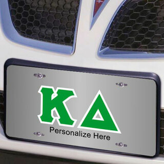 Kappa Delta Lettered License Cover
