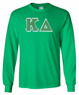 Kappa Delta Lettered Long Sleeve Tee- MADE FAST!