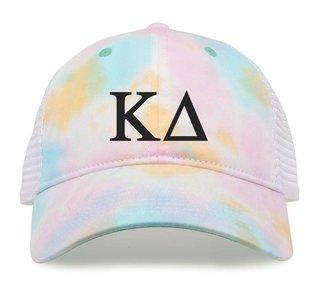 Kappa Delta Lettered Rainbow Cap