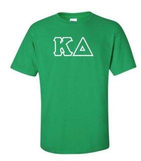 Kappa Delta Sewn Lettered Shirts