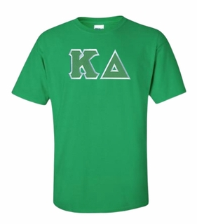Kappa Delta Lettered T-shirt - MADE FAST!