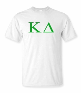 Kappa Delta Lettered Tee - $9.95! - MADE FAST!