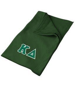 DISCOUNT-Kappa Delta Lettered Twill Sweatshirt Blanket