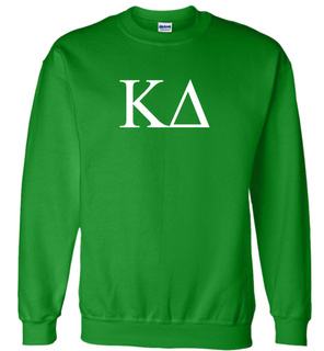 Kappa Delta Lettered World Famous Greek Crewneck