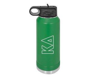 Kappa Delta Letters Stainless Water Bottle