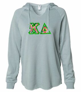 Kappa Delta Lightweight California Wavewash Hooded Pullover Sweatshirt