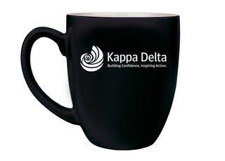 Kappa Delta Logo Bistro Mug