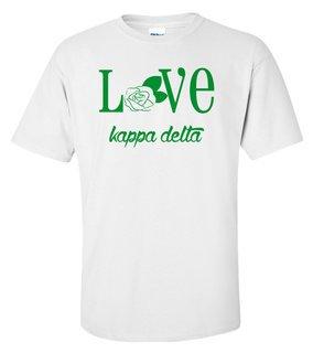 Kappa Delta Love Mascot T-Shirt
