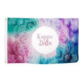 Kappa Delta Mandala Flag