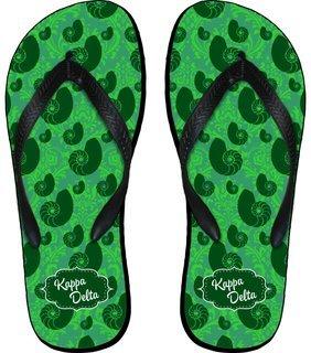 Kappa Delta Mascot Color Flip Flops